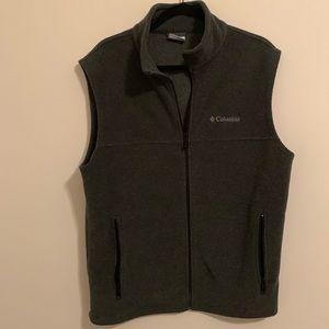 Men's Columbia Zip Up Vest